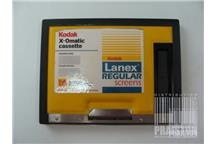 Kaseta do błon RTG KODAK LANEX REGULAR (X-Omatic) 13x18